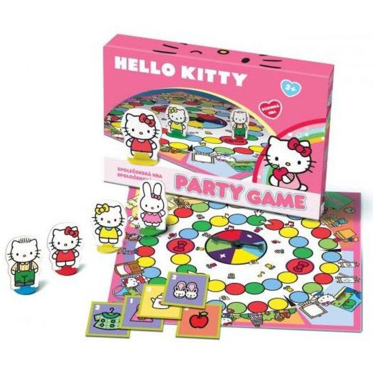 BONAPARTE 4139 - Společenská hra - Hello Kitty