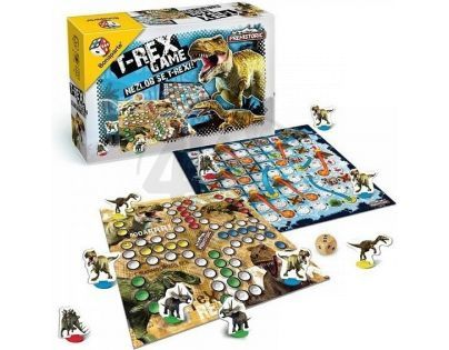 BONAPARTE 07802 - T-Rex Game - Nezlob se, T-rexi!