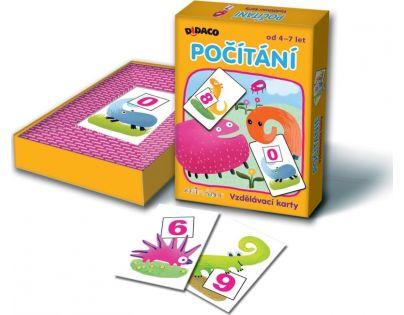 BONAPARTE 07871 - Vzdělávací karty DIDACO Počítání - Animáček