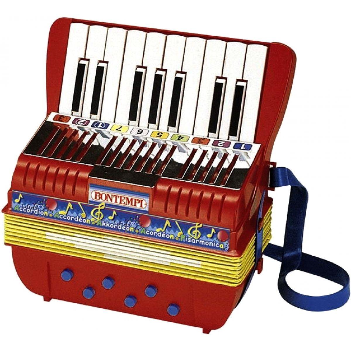 BONTEMPI AC1780 - Akordeón 17 kláves