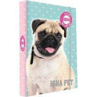 Karton P+P Box na sešity A4 Isha My love Pet