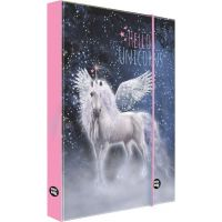 Karton P+P Box na sešity A4 Unicorn 1 pink