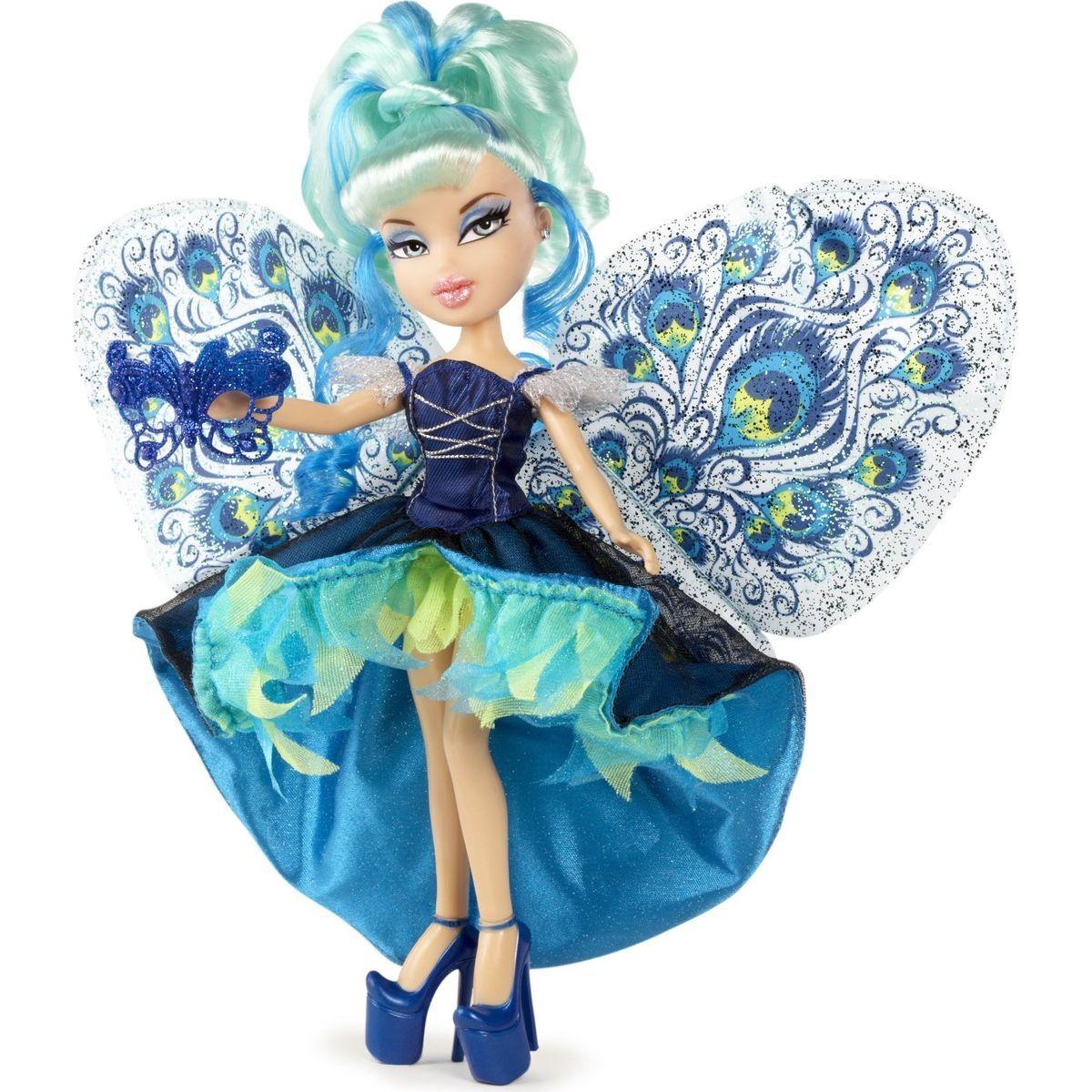 Bratz Chic Mystique víla s motýlými křídly - Jade
