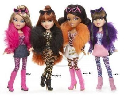 BRATZ Kočičí panenka 4 druhy - Cloe