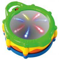Bright Starts Hračka buben hudební a svítící Light & Giggle Drum ™