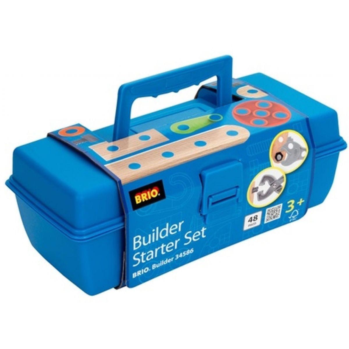 Brio Builder Startovací set v kufříku 48ks
