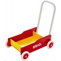 Brio Chodítko vozík, červenožlutý