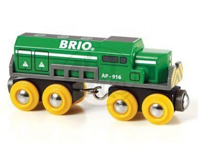 Brio 33693 - Dopravní lokomotiva zelená