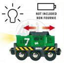 Brio 33214 - Elektrická lokomotiva zelená 2