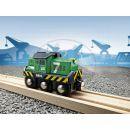 Brio 33214 - Elektrická lokomotiva zelená 3