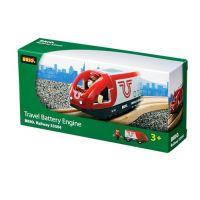 Brio 33504 - Elektrická lokomotiva červeno - bílá 2