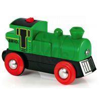 Brio 33595 - Elektrická lokomotiva zelená