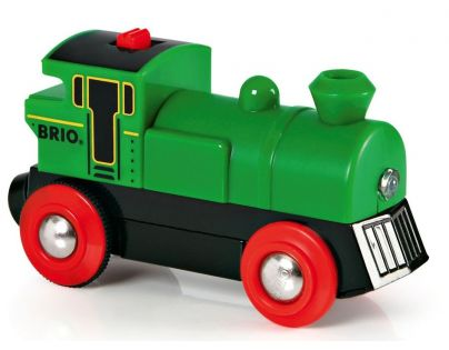 Brio Elektrická lokomotiva zelená