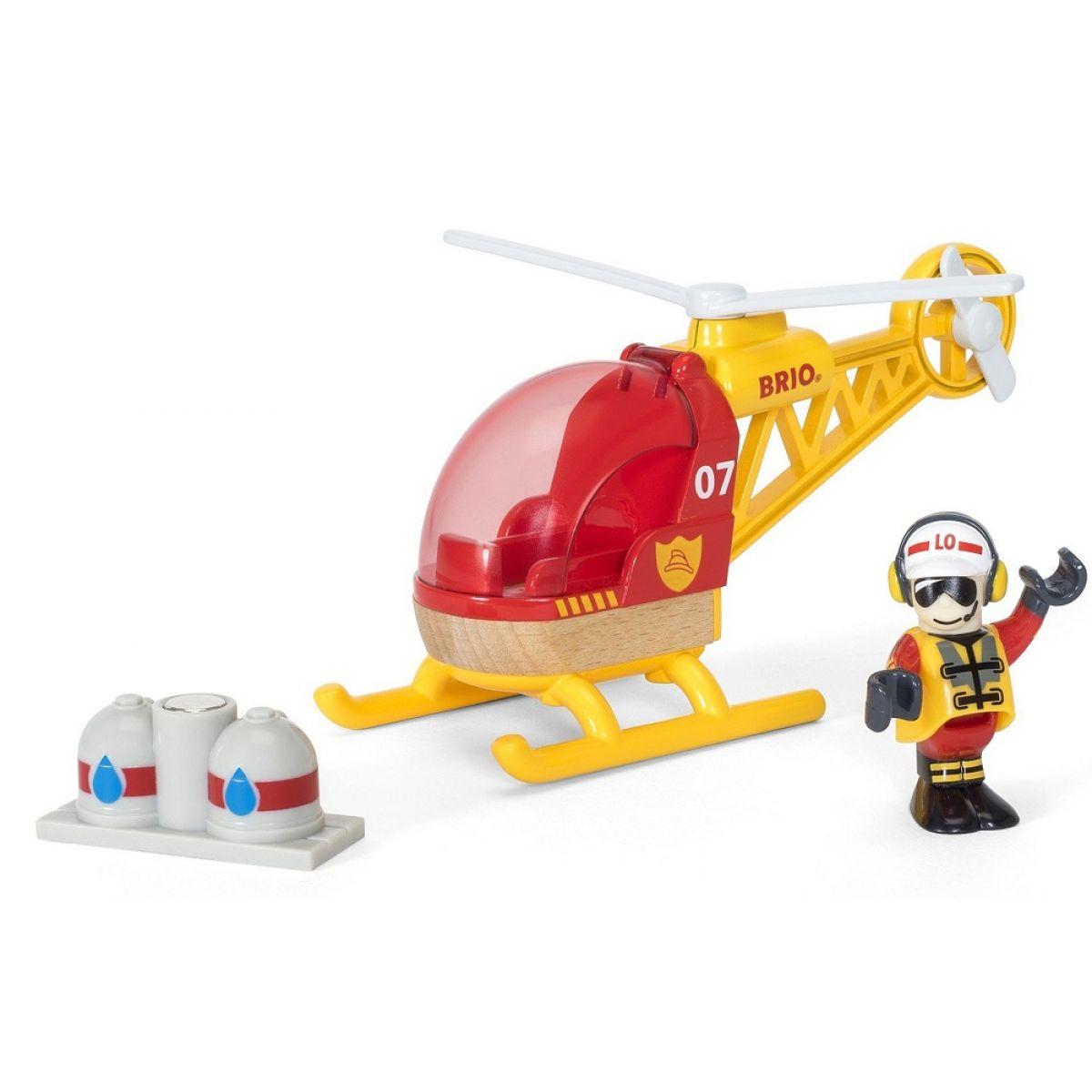 Brio Hasičský vrtulník
