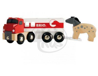 Brio Kamión pro přepravu koní s koníkem