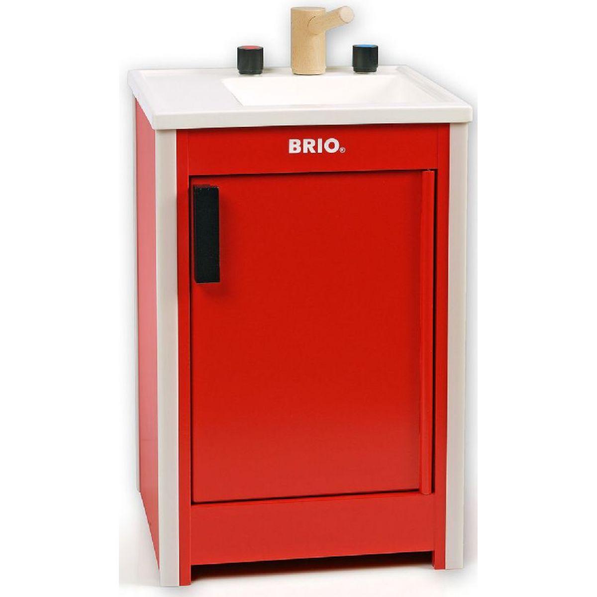 Brio Kuchyňský dřez Červený