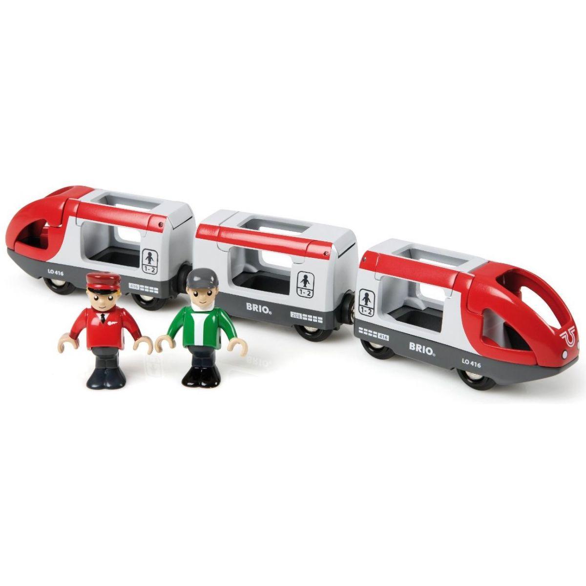 Brio Osobní vlak s vagonky