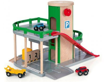 Brio 33204 - Patrové parkovací garáže s výtahem