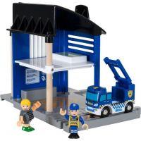 Brio Policejní stanice se světlem a zvukem