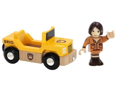 Brio Safari jeep s panáčkem