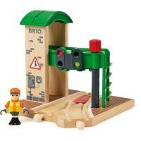 Brio Signální stanice s výhybkou