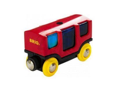 BRIO Smart Track Vagon se světlem a zvukem