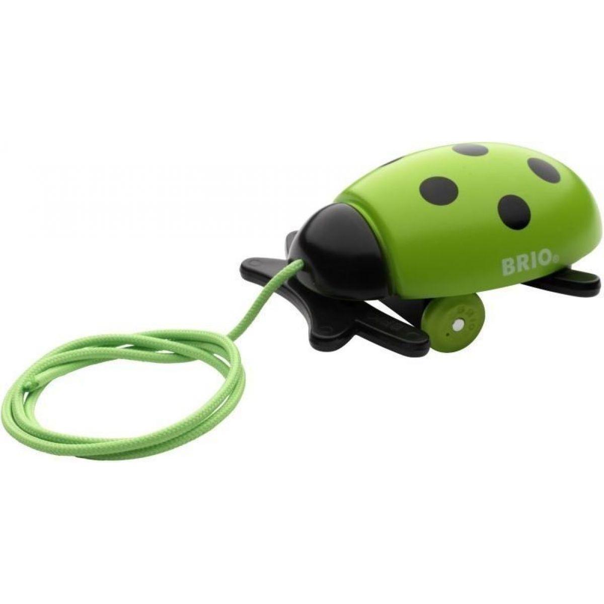 Brio Tahací beruška zelená