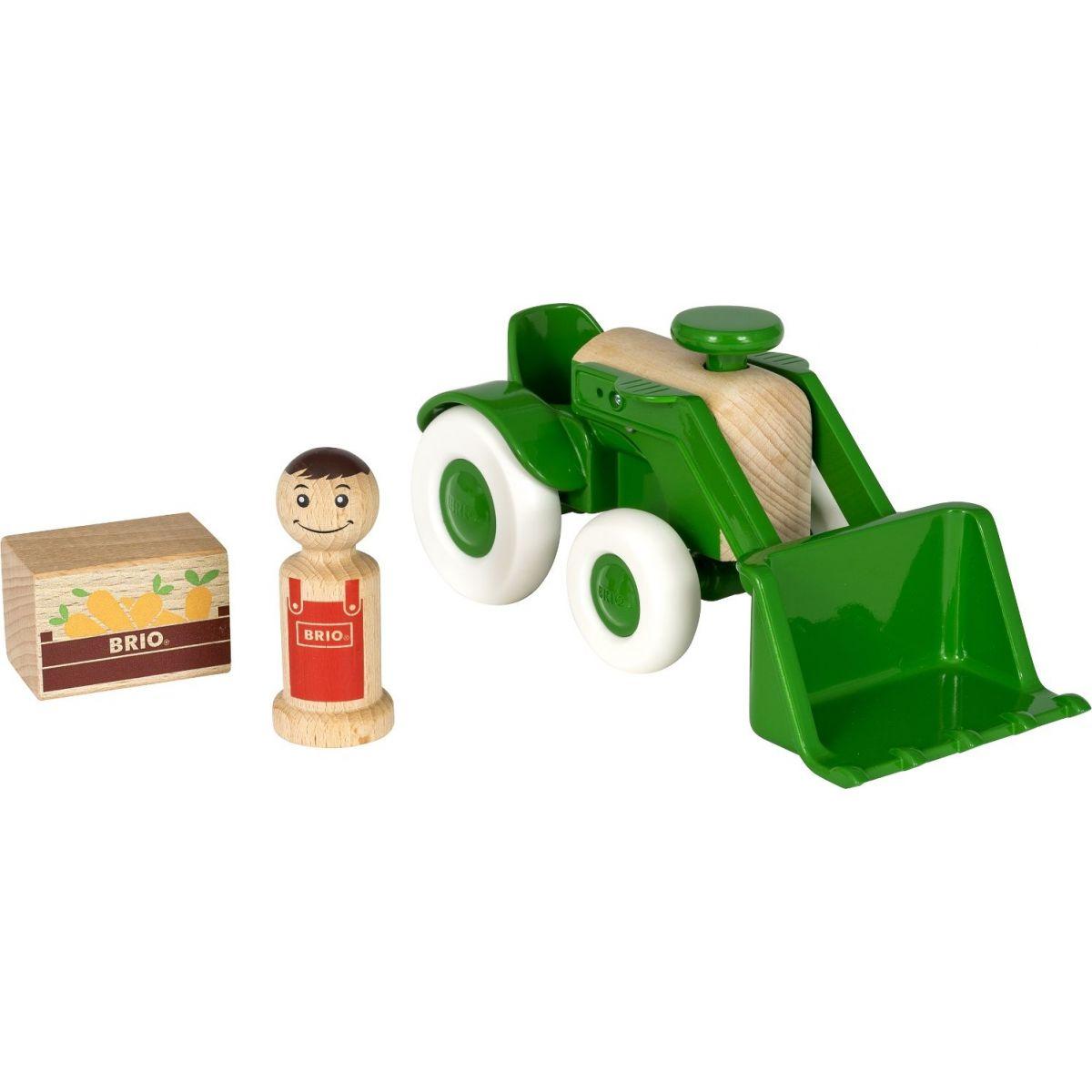 Brio Traktor s nakladačem