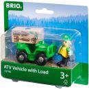 Brio Univerzální vozítko s panáčkem pro přepravu nákladu 2