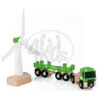 Brio Větrný mlýn a kamion