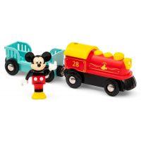 Brio World Vlak na baterie Myšáka Mickeyho