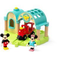 Brio World Nádraží Myšáka Mickeyho s nahráváním zvuku