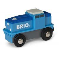 Brio World Nákladní Lokomotiva na baterie