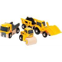 Brio World 33658 Stavební vozidla
