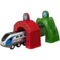 Brio World 33834 Lokomotiva s aktivními tunely Smart Tech