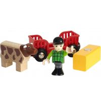 Brio World 33879 Hrací set Farmář