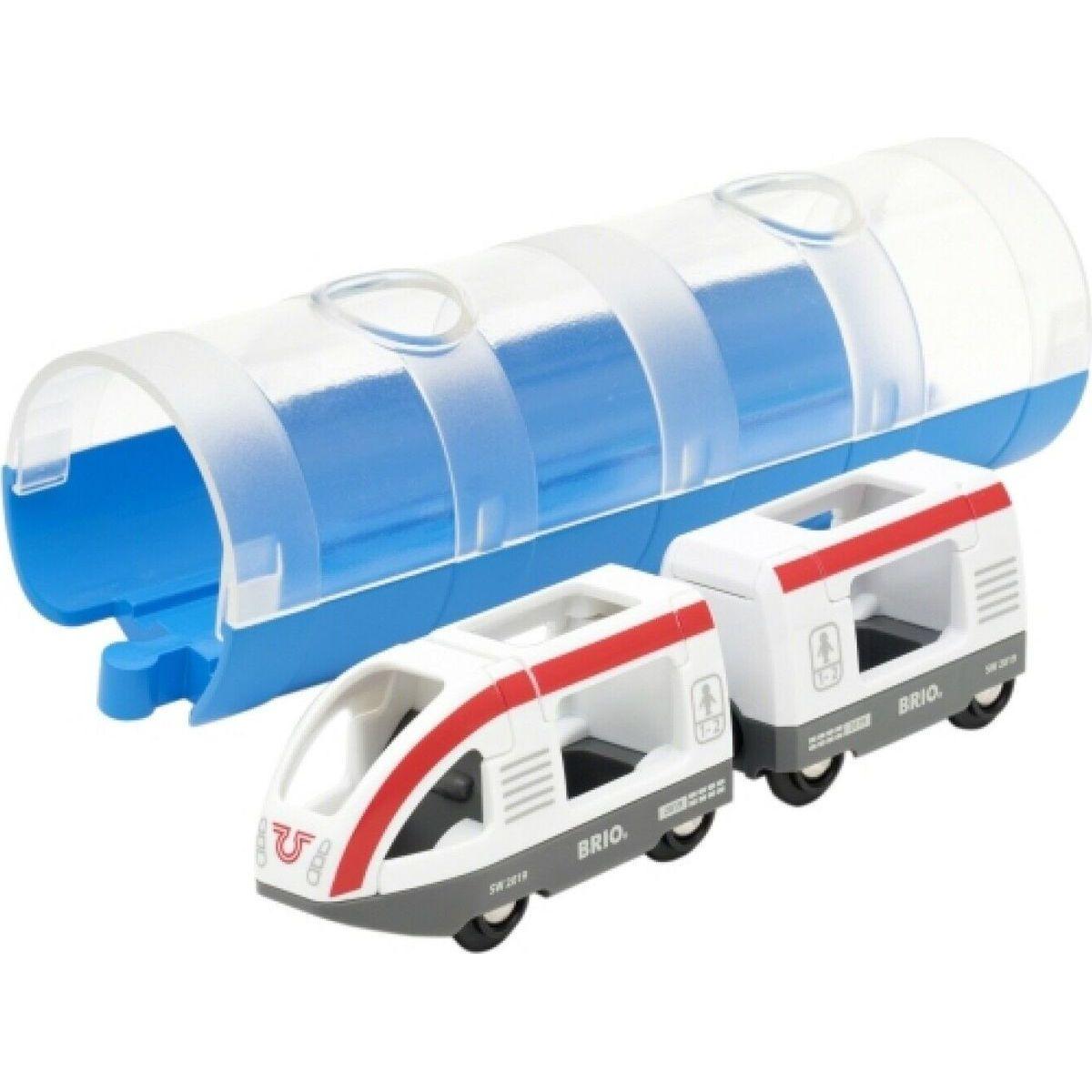 Brio World Tunel a osobní vlak