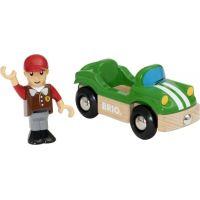 Brio World Hrací set sportovní auto