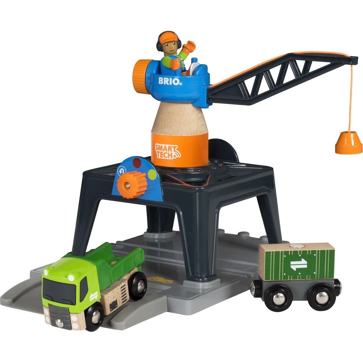 Brio World Jeřáb Smart Tech