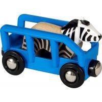 Brio World Zebra a vagónek