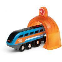 Brio World Smart Tech Sound Nahrávací lokomotiva