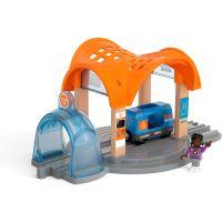 Brio World Smart Tech Sound Vlaková stanice s tunelem