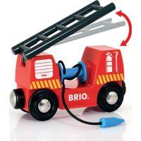 Brio Záchranářská vláčkodráha hasiči 2