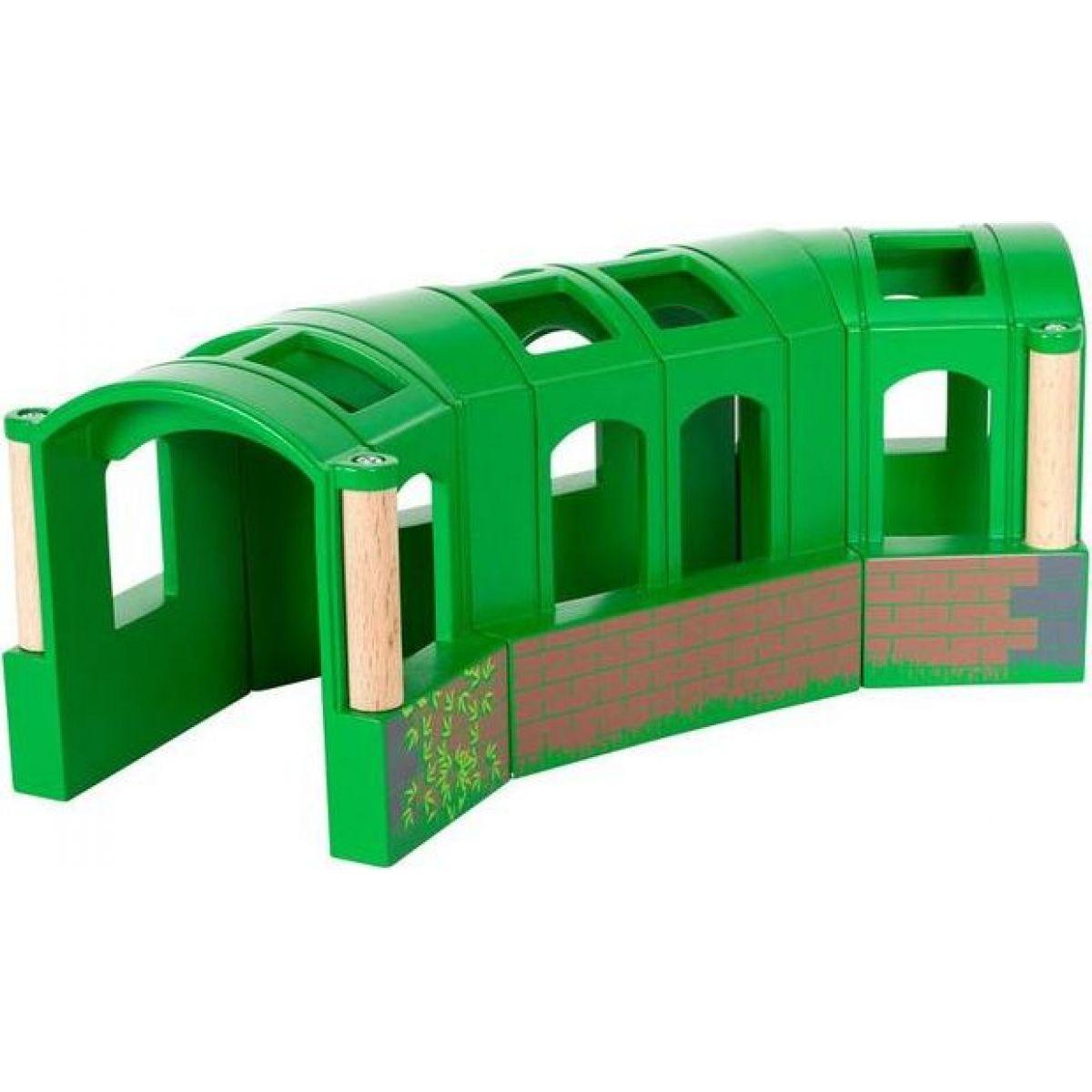 Brio Zahnutý tunel