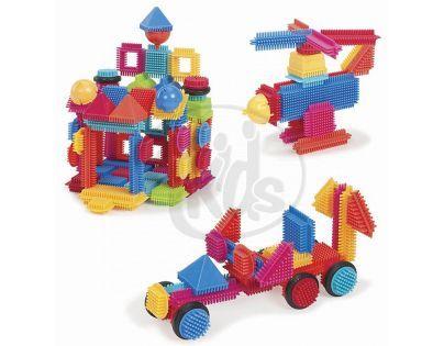 Bristle Blocks Stavebnice 112 ks v krabici