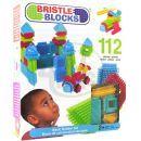 Bristle Blocks Stavebnice 112 ks v krabici 2