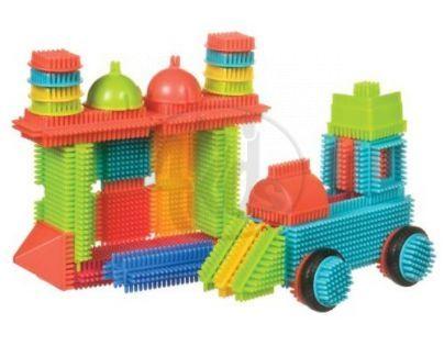 Bristle Blocks Stavebnice 50 ks v kyblíku