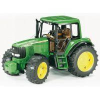 Bruder 01134 Traktor Jonh Deere 6920 s přívěsem a přední lžící 3
