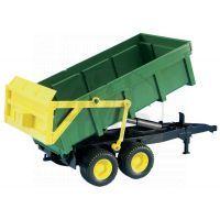 Bruder 01134 Traktor Jonh Deere 6920 s přívěsem a přední lžící 5