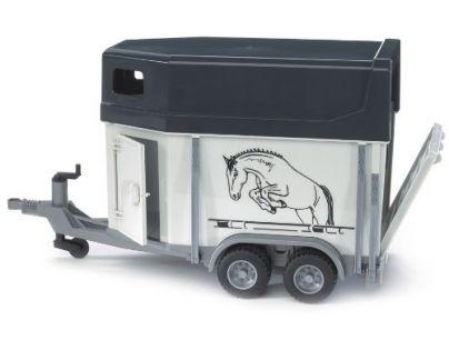 BRUDER 02028 - Přívěs pro převoz koní